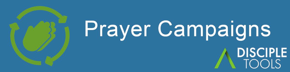 Prayer Campaigns Plugin Banner